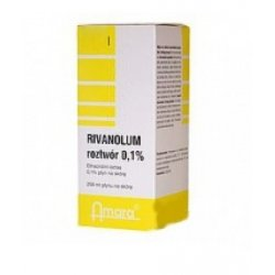 RIVANOLUM 0,1% ROZT. - 100 ML