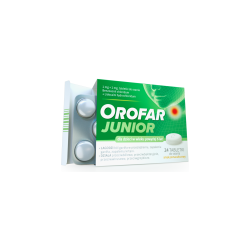 Orofar Junior 24 tabletki do ssania