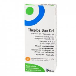 THEALOZ DUO GEL ŻEL DO OCZU - 30 MINIMS.A 0,4ML