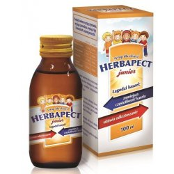 HERBAPECT JUNIOR SYROP - - 100 ML (120 G)
