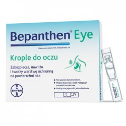 BEPANTHEN EYE KROP.DO OCZU - 10 POJ.A 0,5ML