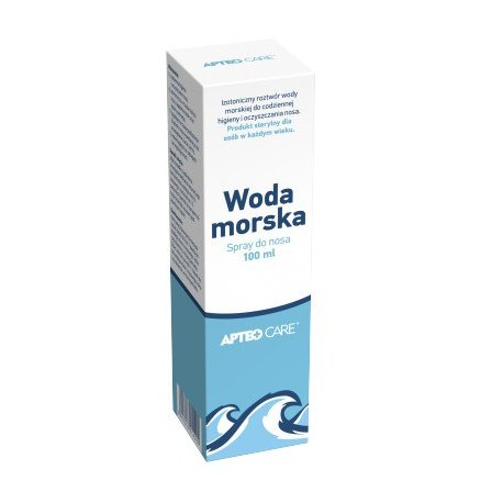Woda morska 100 ml APTEO CARE