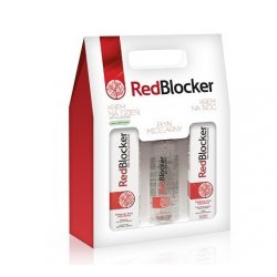 Redblocker Zestaw Krem Na Dzien 50ml + Krem Na Noc 50ml + Płyn Micelarny 200ml