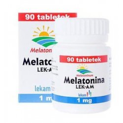 MELATONINA LEK-AM TABL. 1 MG 90 TABL.(POJEM.)