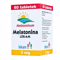 MELATONINA LEK-AM TABL. 3 MG 60 TABL.(POJEM.)