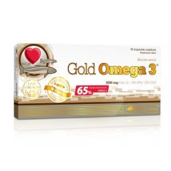 OLIMP GOLD OMEGA 3 PLUS 65% KAPS.MIĘKKIE - 60 KAPS