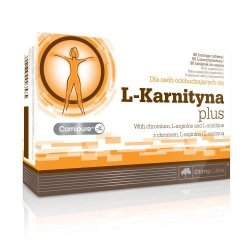 OLIMP L-KARNITYNA PLUS TABL. 0,3 G 80 TABL.
