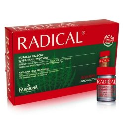 RADICAL FARMONA ODŻ. D/WŁ. AMP. - 5 ML 15 AMP.