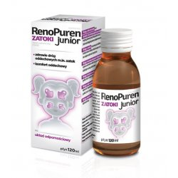 RENOPUREN ZATOKI JUNIOR PŁYN - 120 ML