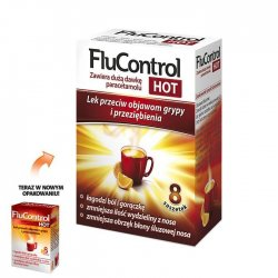 Flucontrol Hot 8 saszetek