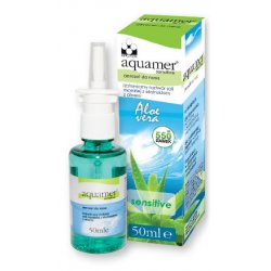 AQUAMER SENSITIVE AEROZOL DO NOSA - - 50 ML
