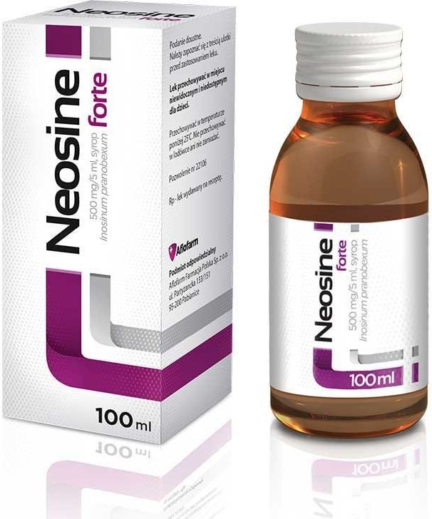 Neosine forte is an antiviral drug and increases the immunity of the body