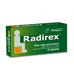 RADIREX TABL. - 10 TABL.