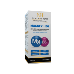 Noble Health Magnez + B6 30 kaps.