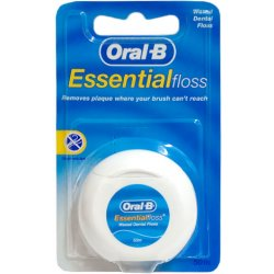 ORAL-B Essential Floss Woskowana 50 m