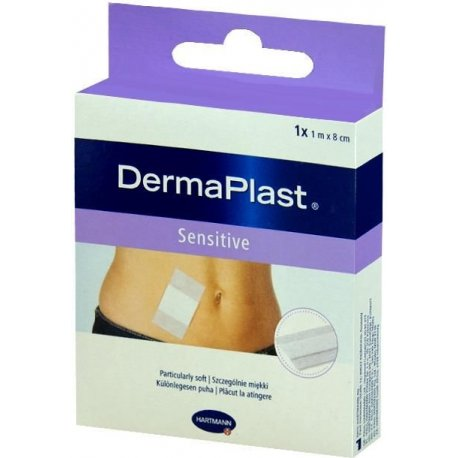 DERMAPLAST Sensitive 6cmx1m 1szt.