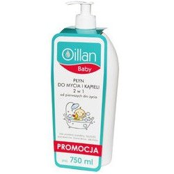 OILLAN BABY Płyn do kąpieli 2w1 750ml