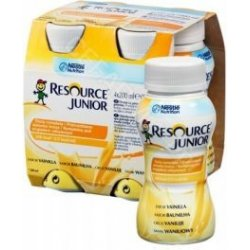 Nestle Resource Junior wanilia 4x200 ml