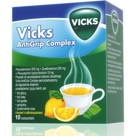 VICKS SYMPTOMED COMPLETE CYTRYNOWY PR.DO P.ROZT.DO