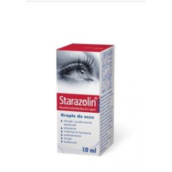 STARAZOLIN KROP.DO OCZU 0,5 MG/1ML 10 ML (2 X 5ML)