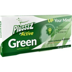 PLUSSSZ ACTIVE GREEN 12 tabl do ssania
