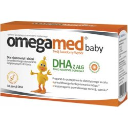 Omegamed Baby DHA 30 kaps. twist-off