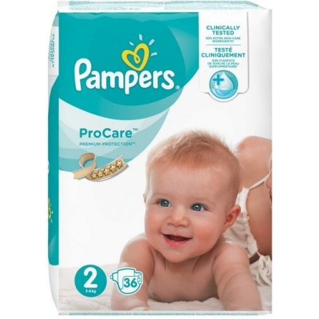 Pampers ProCare Rozmiar 2 36 Pieluch
