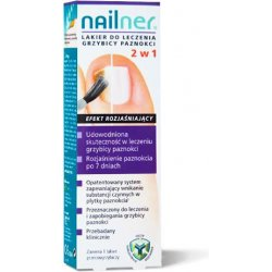 NAILNER LAKIER 2 W 1 LAK.DO PAZN.LECZ. - 5 ML