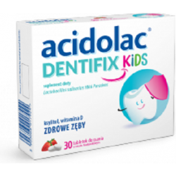 Acidolac Dentifix Kids tabl. do ssania 30 tabletek