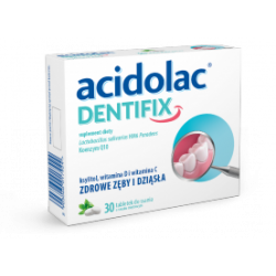 Acidolac Dentifix tabl. do ssania 30 tabletek
