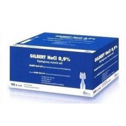 GILBERT NA CHL. 0,9% - - 100 POJ.A 5ML