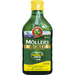 Mollers Gold Tran Norweski płyn 250 ml