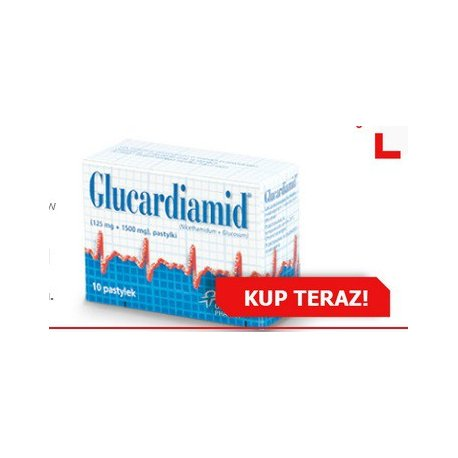 GLUCARDIAMID PASTYL. (1,5G + 0,125G) 10 PASTYL.