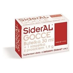 Sideral Gocce 30 ml + 1,9 g