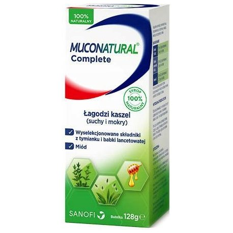 Muconatural Complete syrop 128 g