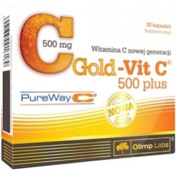 Olimp Gold-Vit 500 Plus Pure Way C 30 kapsułek