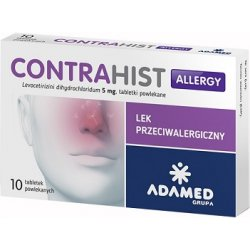 Contrahist Allergy 10 tabletek