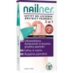 Nailner sztyft 2w1 4 ml