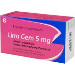 Lirra Gem 5mg 7 tabletek