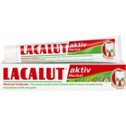 Lacalut Aktiv Herbal pasta do zębów 75 ml 30.06.2020r.